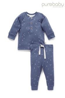 Purebaby Henley Pyjama Set