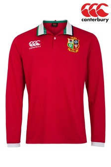 Canterbury British & Irish Lions Long Sleeve Rugby Shirt