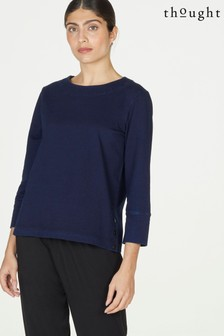 Thought Aggie Loopback Organic Cotton Jersey Top