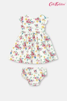 Cath Kidston Baby Cream Ayda Summer Floral Dress