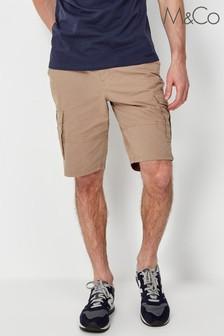 M&Co Stone Cargo Shorts