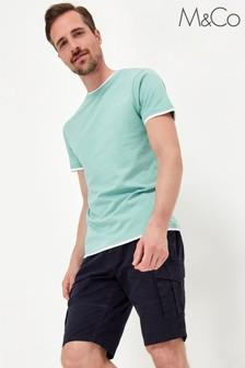 M&Co Blue Cargo Shorts