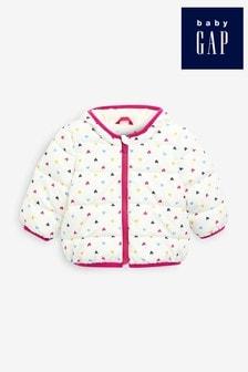 Gap Baby Heart Print Hooded Jacket