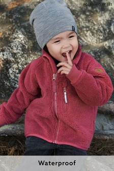 Polarn O Pyret Pink Waterproof Soft Pile Fleece Jacket