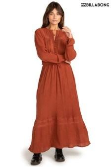 Billabong Brown Great Day Maxi Dress