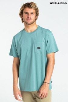Billabong Blue Stacked T-Shirt