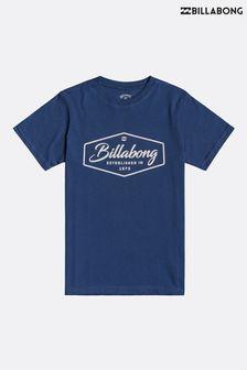 Billabong Blue Trademark T-Shirt