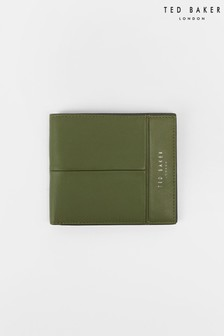 Складывающийся вдвое кожаный бумажник Ted Baker Breaker