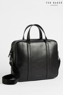 Ted Baker Strath Saffiano Leather Document Bag