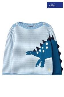 Joules Barney Dinosaur Knitted Jumper