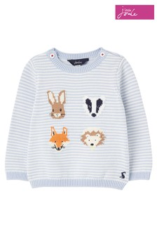 Joules Peter Rabbit Ivy Intarsia Knitted Jumper
