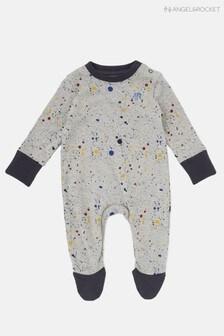 Angel & Rocket Lane Paint Splatter Babygrow
