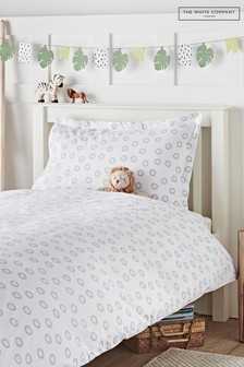 The White Company White Little Lion Bed Linen Set