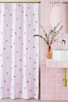 Skinnydip Peachy Shower Curtain