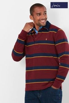 Joules Red Onside Rugby Shirt