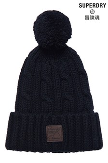 Superdry Trawler Cable Beanie Hat