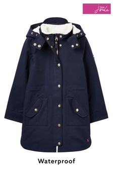 Joules Loxley コージー防水シェルパ裏地付きパーカー