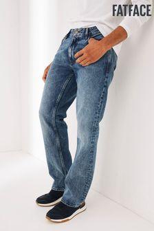 FatFace Boot Cut Light Wash Jeans
