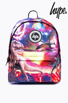 Hype. Red Space Dinosaur Backpack