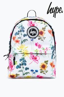 Hype. Cream Vintage Floral Backpack