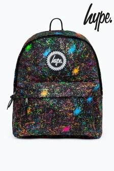 Hype. Black Splat Backpack