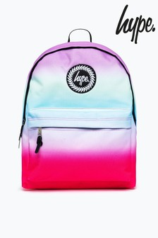 Hype. Pink Pastel Stripe Fade Backpack