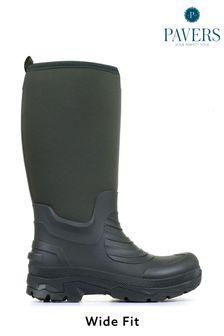 Pavers Mens Wide Fit Wellington Boots