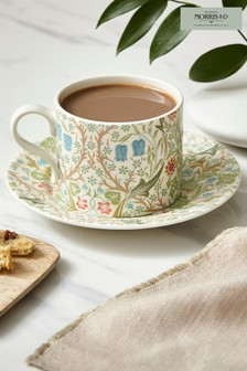 Morris & Co. by Spode Blackthorn Teacup and Saucer