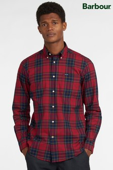 Barbour® Red Wetherham Tailored Shirt