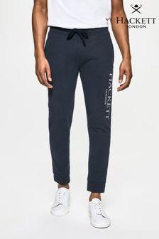 Hackett Mens Blue London Sweatpants