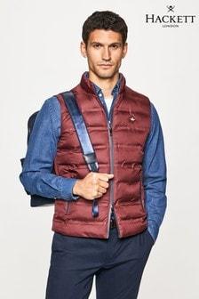 Hackett Mens Pink Outerwear LW Gilet