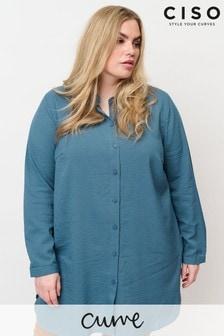 חולצה כחולה של CISO