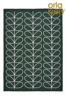 Orla Kiely翠綠色線條枝葉圖案戶外地氈