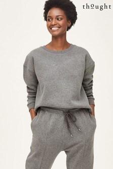 Thought Grey Fairtrade And Organic Cotton Sweatshirt