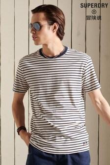 Superdry Organic Cotton Cali Surf Breton T-Shirt
