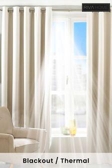 Riva Home Cream Twilight Curtains