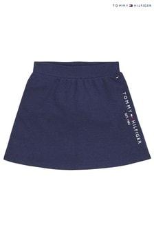 Tommy Hilfiger Blue Essential Skater Skirt