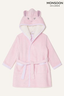Monsoon Pink Baby Bunny Robe