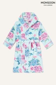 Monsoon Blue Elle Floral Robe