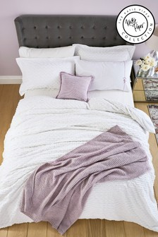 Katie Piper Pink Calm Knitted Throw