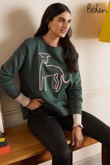 Boden Natural Jasmine Sweatshirt