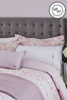 Katie Piper Pink Calm Affirmation Pillowcase