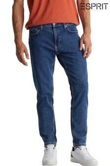 Esprit Mid Wash Blue Slim Fit Jeans