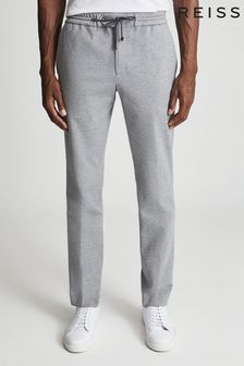 Reiss Flexo Slim Fit Jersey-stretch Trousers