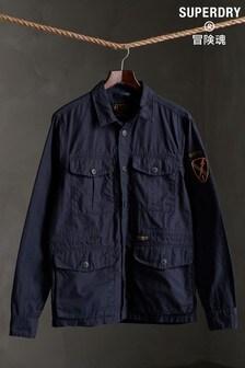 Superdry Long Sleeved 4 Pocket Field Edition Shirt