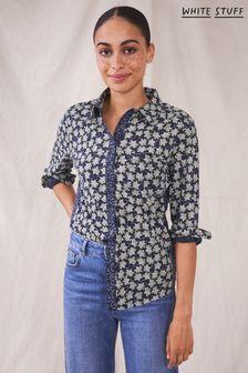 חולצת ג'רזי לנשים דגם Renee בצבע לבן של White Stuff