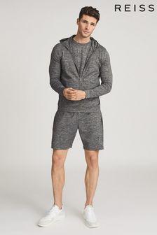 Reiss Vimo Melange High Stretch Jersey Shorts