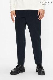 Ted Baker Blue Telscop Moleskin 5 Pocket Trousers