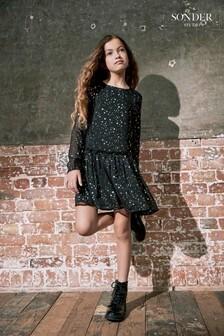 Sonder Studio Mini Black Star Dress
