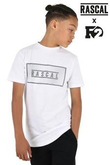 Rascal Boys Digital Box Print T-Shirt